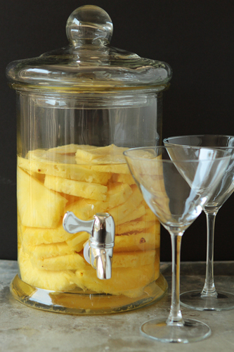 Stoli Doli | Pineapple Infused Vodka | My Baking Addiction #food #cocktail