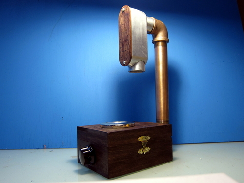 "Limited ""Steampunk edition"" spectrometer"