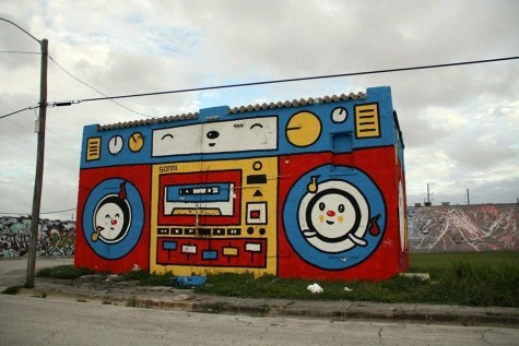 Ghetto blaster #graffiti