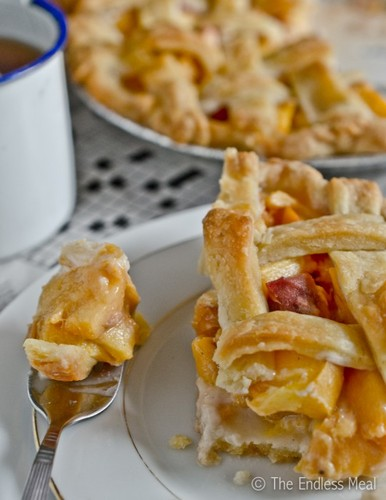 Peach Pie #food #cuisine
