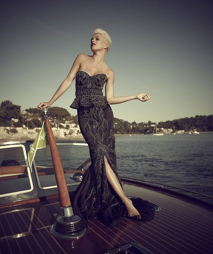 World's most expensive dress: 50 two carat black diamonds and will set you back £3.5m