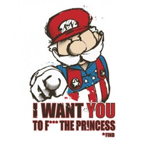 #geek - Uncle Mario: I Want You...