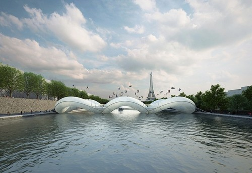 Bridge in Paris – Fubiz™