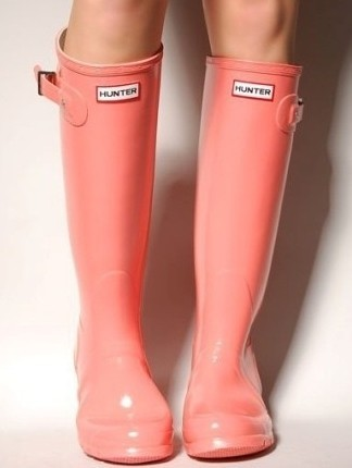 Coral Hunter boots : LOVE