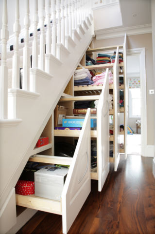 Bespoke Under Stairs Storage - Deriba, London W4, Ealing W5, Chelsea SW3
