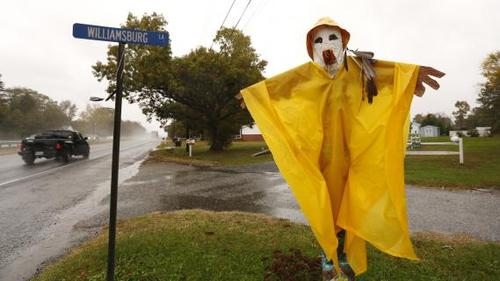 "Les New-Yorkais ont surnommé l'ouragan Sandy ""Superstorm"", ""Frankenstorm"" ou encore ""Monsters"