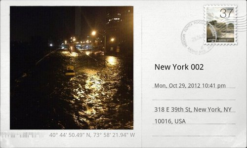 #sandy #new york #flooding