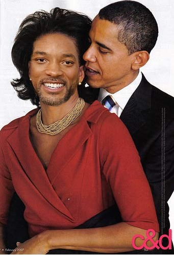 Obama and Will Smith