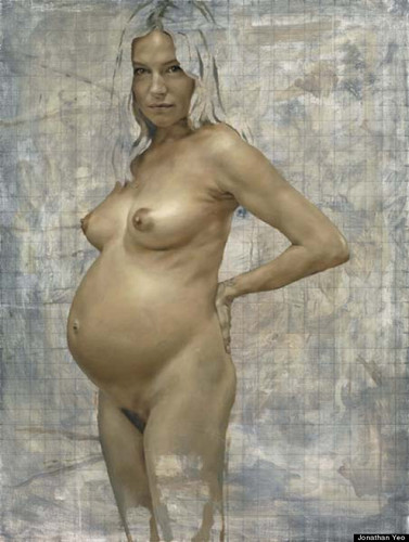 Sienna Miller Nude: Star Posed For Nude Portrait While Pregnant