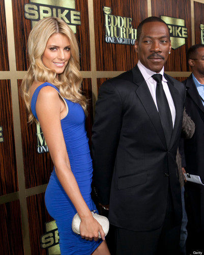 Eddie Murphy stepped out with new girlfriend Paige Butcher