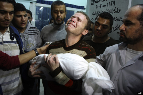 Jihad Misharawi, BBC Arabic Worker Pictured Holding Baby Son Omar Killed In Gaza Strike
