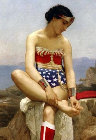 The (Wonder Woman) Bather