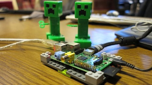 Free version of Minecraft heading to Raspberry Pi