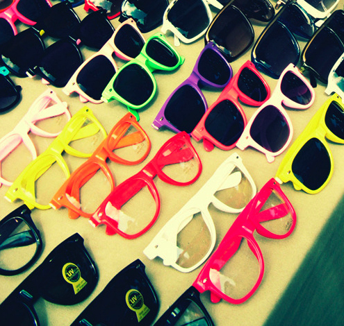 Colorful Sunglasses Picture & Image | tumblr