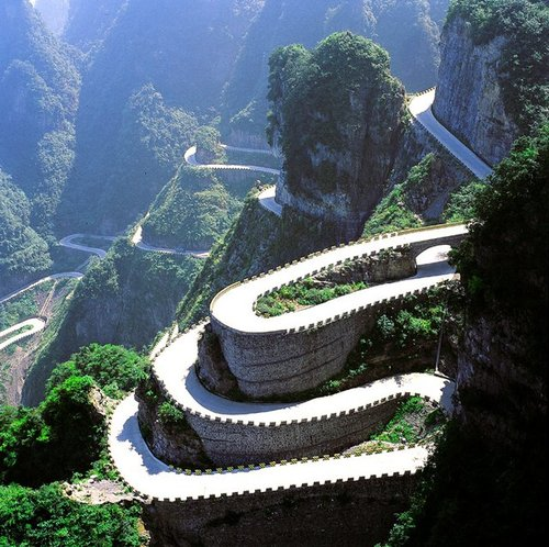 Tianmen Mountain @ China