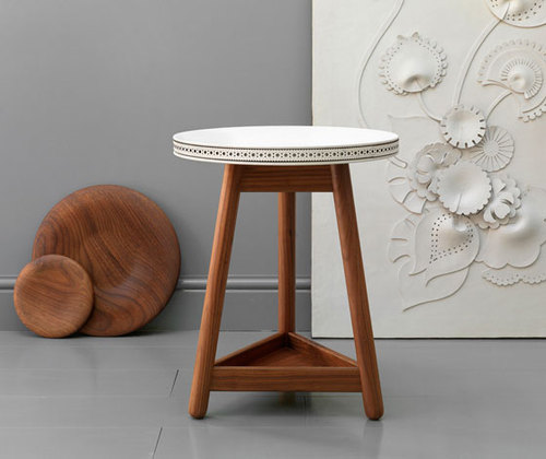 'Brogue' table by Bethan Gray for G&T (uk)