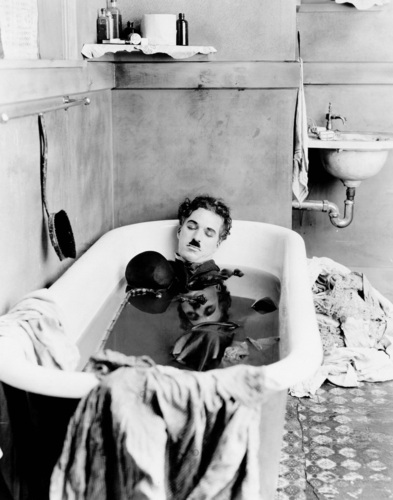 This is my favorite Chaplin photo ever.
