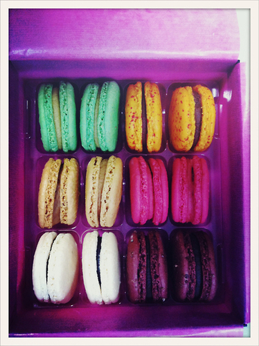 limited edition Fauchon Design macarons