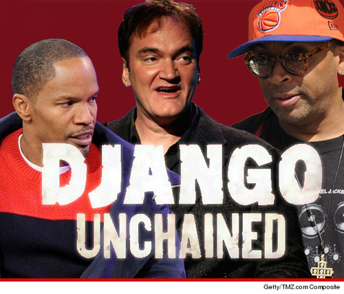 "Spike Lee is boycotting Quentin Tarantino's ""Django Unchained"" because the N-word is used 110 tim"