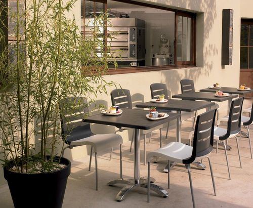 Table rabattable cuisine paris table terrasse restaurant - Mobilier de terrasse ...