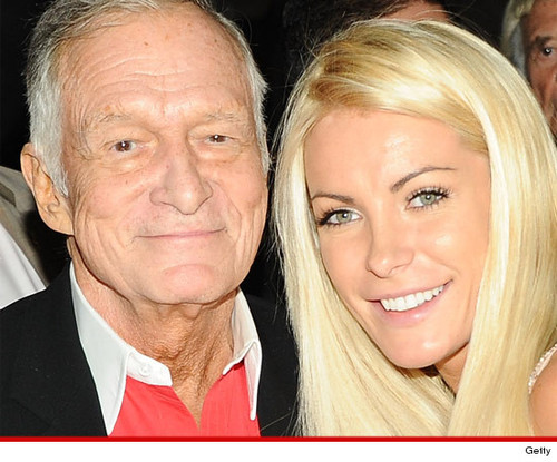 HUGH HEFNER MARRIES CRYSTAL for Real This Time