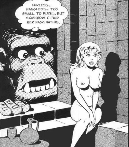 King Kong in love