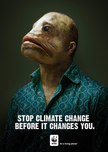 Stop climate change before it changes you !