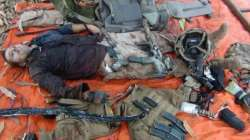 Somalia's Al-Shabaab militant group just posted a picture of the dead French commando killed