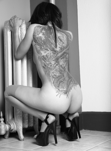 tattooded and naked