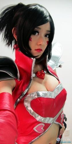 Cosplay girl rouge