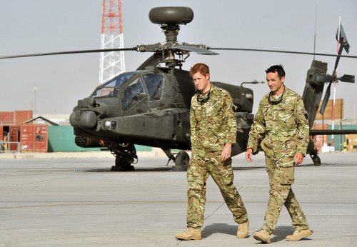 Prince Harry Says He Killed Taliban Fighters In Afghanistan Tour