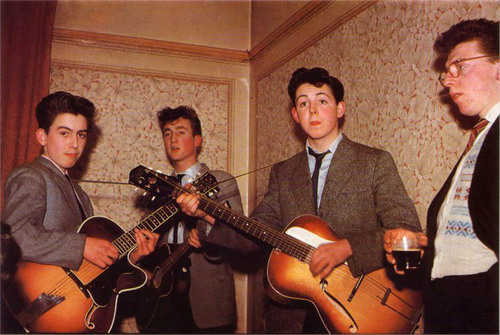 The Beatles young