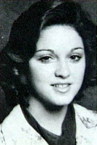 Madonna high-school photo
