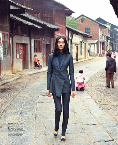 Liu Wen for New York Times T Magazine