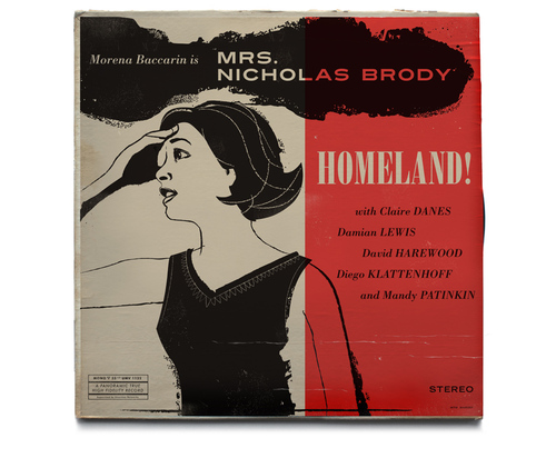 Homeland Vintage Jazz Record Covers