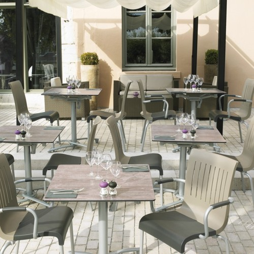 mobilier restaurant terrasse g2lattes boom. Black Bedroom Furniture Sets. Home Design Ideas