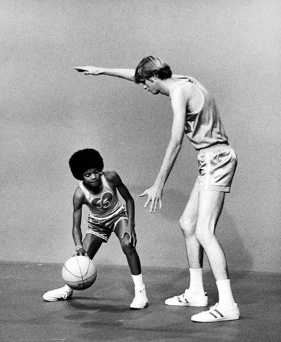 Michael Jackson young playing basketball