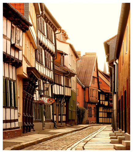 Street in Germany