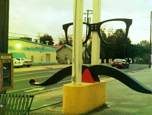 Things We Like: Abandoned Phone Booths Transformed Into A Moustache See-Saw