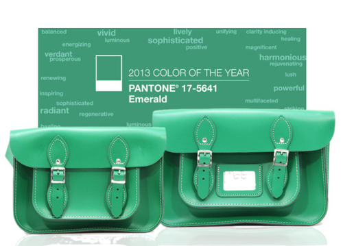 Satchel Purse Follows The Emerald