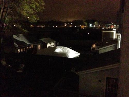 PHOTO of the boat where #Dzhokhar #Tsarnaev was hiding in #Watertown