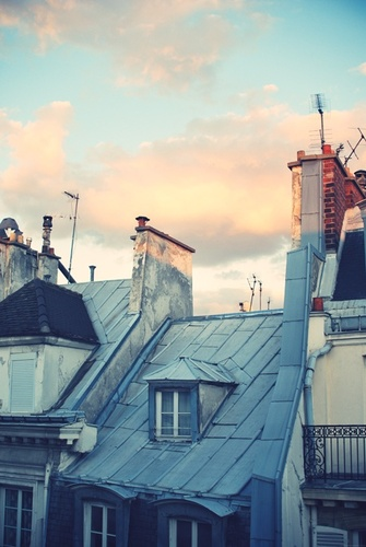 Paris RooftopsTravel Blog
