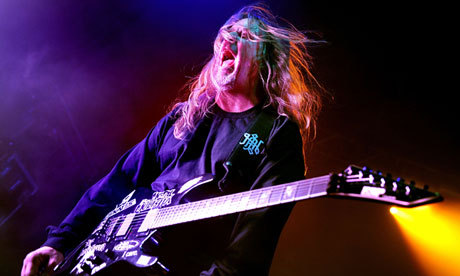 Jeff Hanneman, guitarist and co-founder of Slayer, dies aged 49