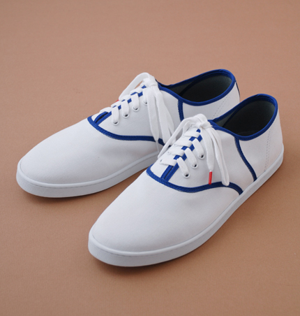 Twins for Peace 'Classic Canvas Sneakers'
