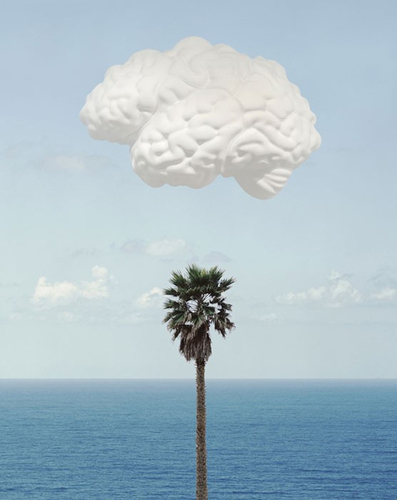 John baldessari  'Brain/Cloud', 2009