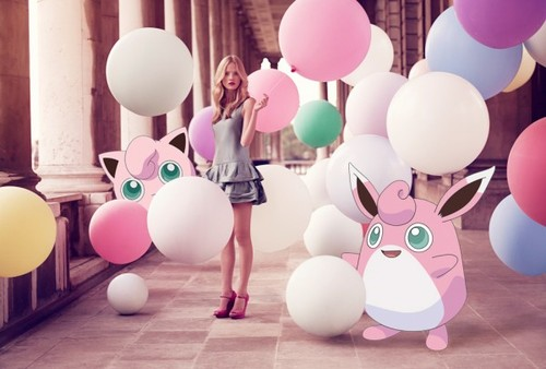 Pokemons Everywhere with Pokemon Fashion