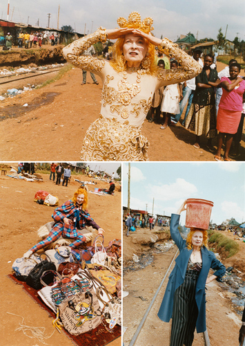 Vivienne Westwood in Kenya: THIS IS NOT CHARITY, THIS IS WORK