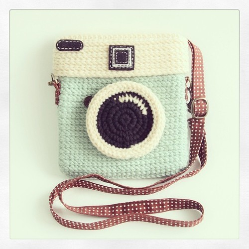 #crochet #instagram #mint #bag