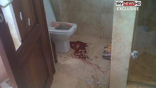 Pistorius: Images Show Bloody Scene Of Killing
