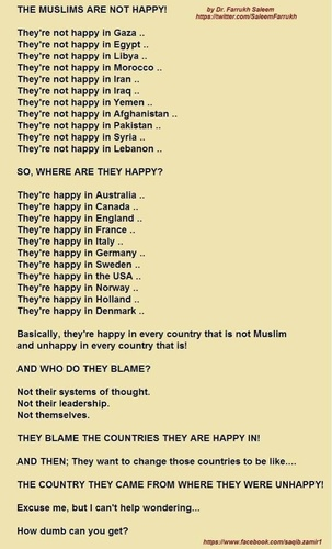 The Muslims are not happy! - Imgur